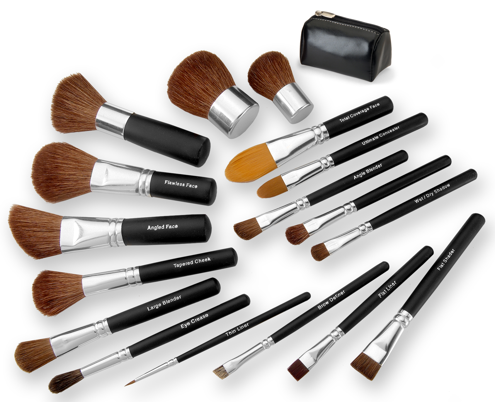 BS-MALL Makeup Brushes Premium Synthetic Foundation...
