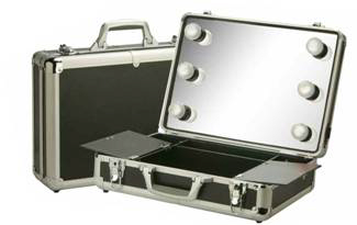 Travel Makeup Case With Lighted Mirror Saubhaya Makeup